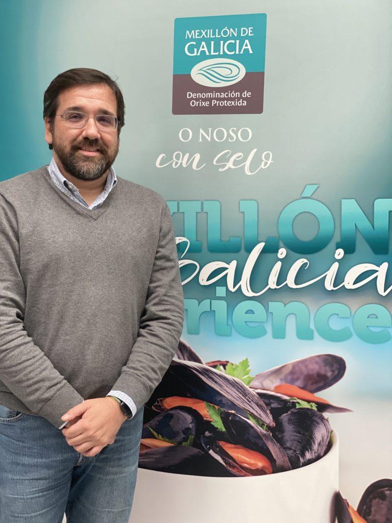 Joaquin Garrido mexillón de Galicia