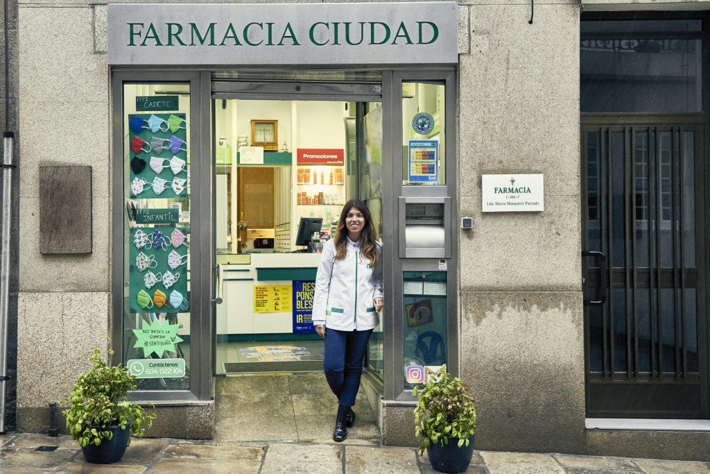 Marta Mosquera farmacéutica