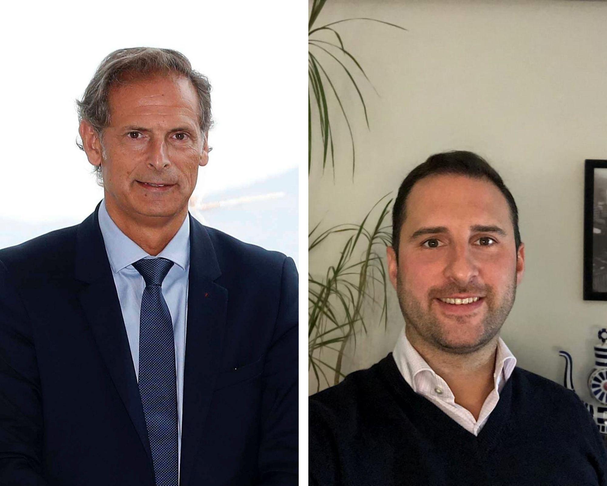 Germán Arteta y David Camba